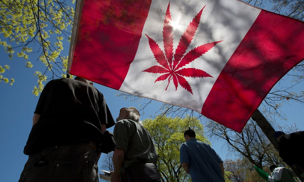 Oh Canada! Legalisation is here.