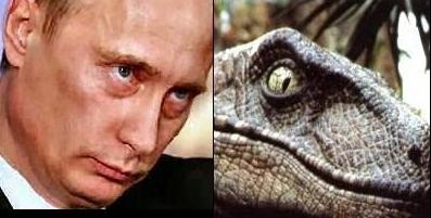 Putin us in raptures