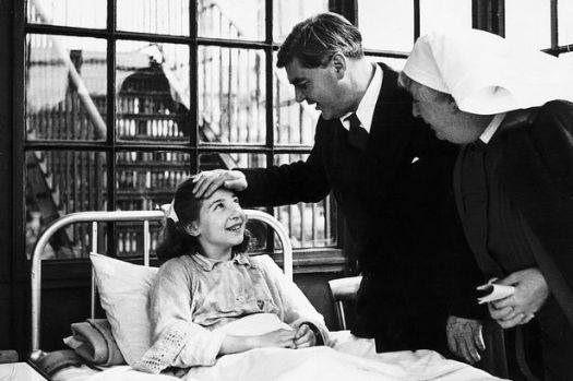 NHS founder Nye Bevan visits Park Hospital, Davyhulme, Manchester,in 1948.