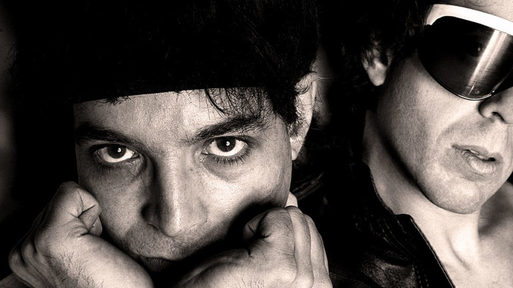Suicide's Alan Vega and Martin Rev in 1979