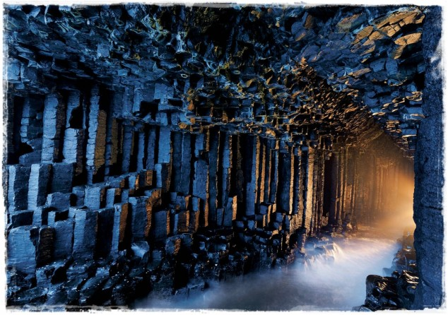 Fingal's Cave in the Scottish Hebrides