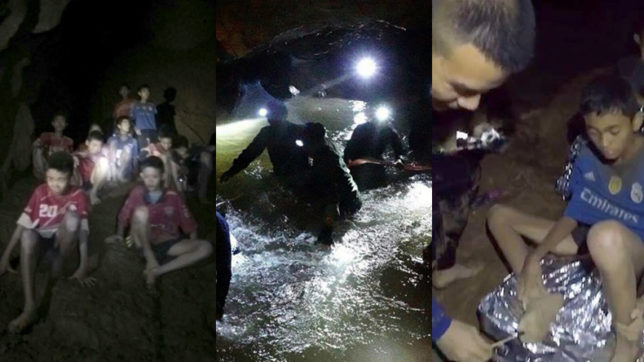 Some images before the Thai cave rescue
