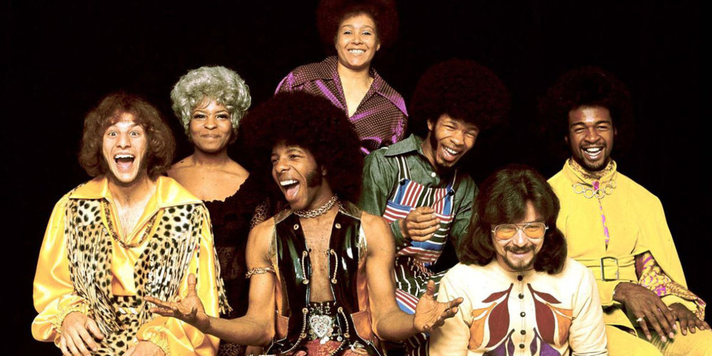 Sly and the Family Stone … more than happy to stay on this playlist