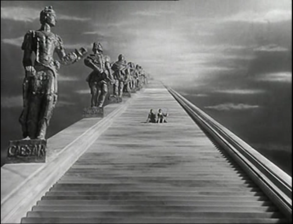 Stairs to heaven: A Matter of Life and Death (1946)