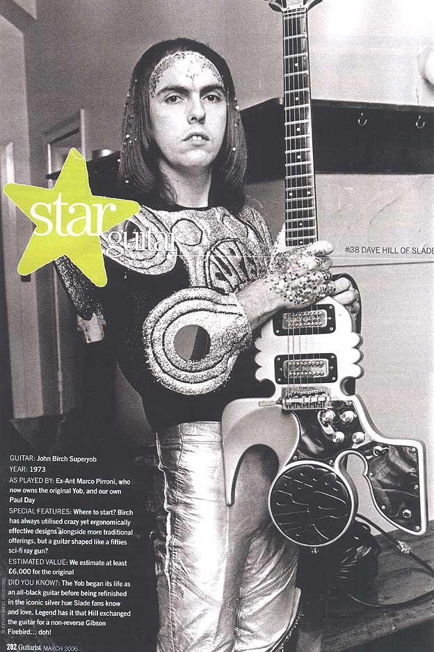 Silver merchant: Slade's Dave Hill