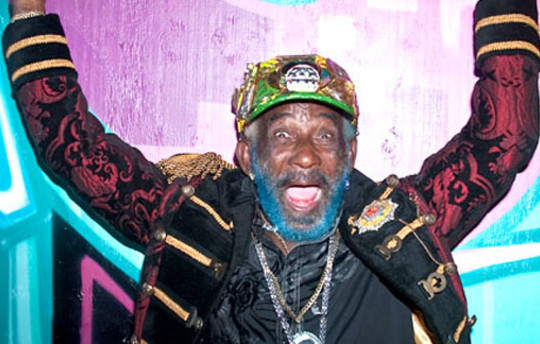 Lee 'Scratch' Perry. Going backwards to go forwards.