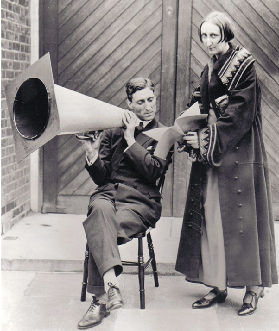 Dame Edith Sitwell will be heard