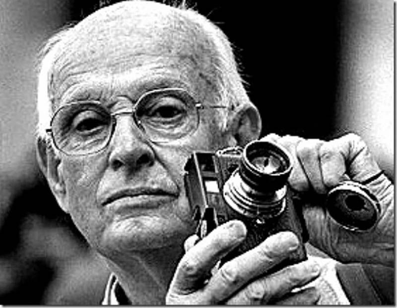 Henri Cartier-Presson. Seeing the world in a fraction of a second