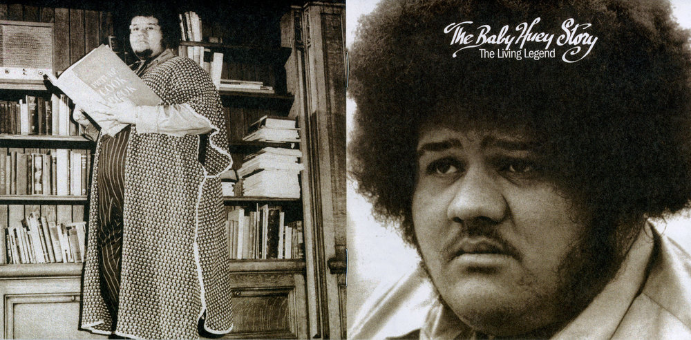 At work and play: Baby Huey, as shown on his sole album of 1971