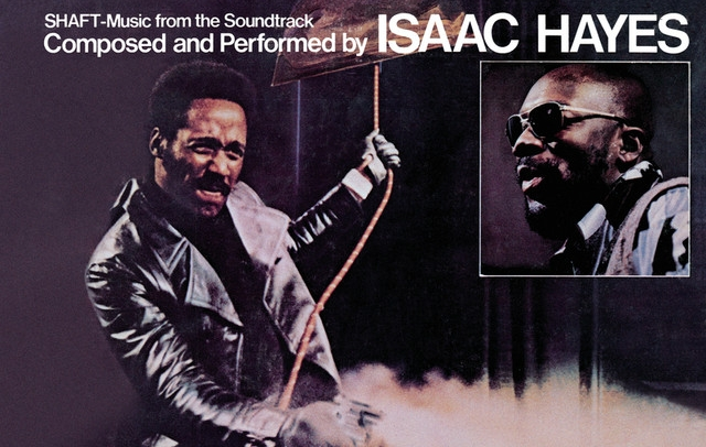 Shaft (1971) with the lead role played by Richard Roundtree, but perhaps best known for Isaac Hayes's music