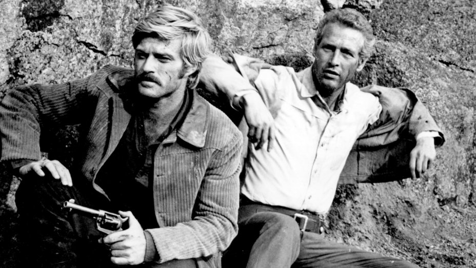 Robert Redford and Paul Newman making their last stand in the 1969 film