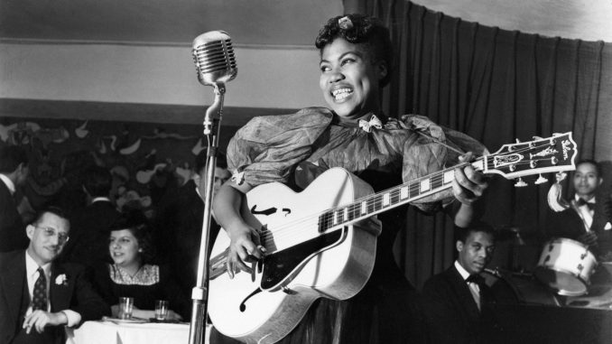 Guitar and singing legend Sister Rosetta Tharpe