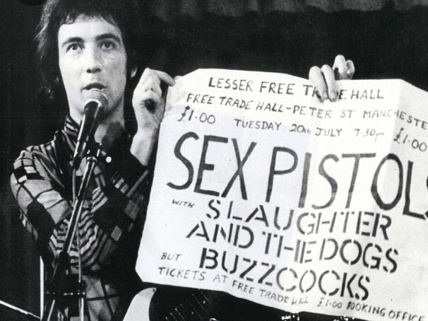 Pete Shelley and that famous second gig on 20th July 1978