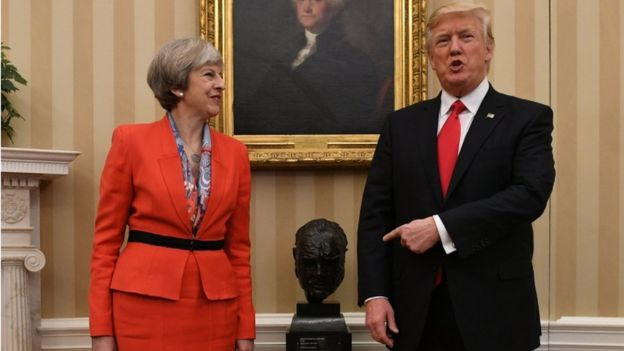Malignant malarkey: May and Trump