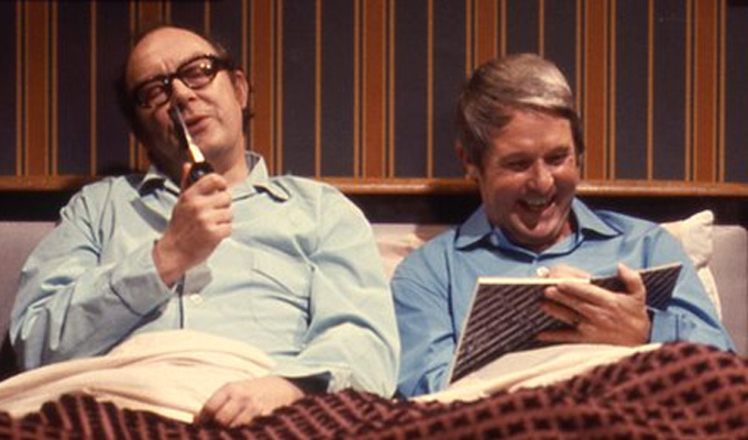 Not so strange bedfellows: Eric and Ernie