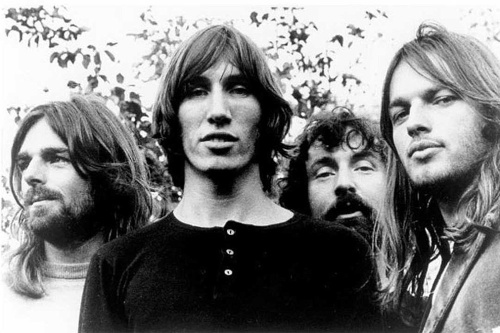 Pink Floyd in 1973, the year of Dark Side Of The Moon