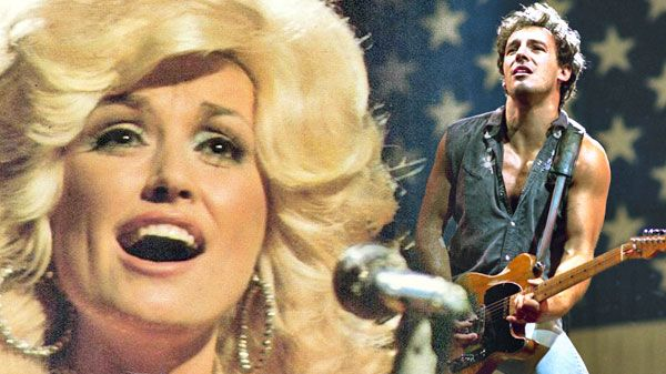 Dolly and Bruce: try speeding up the Boss, and discover an uncanny likeness …