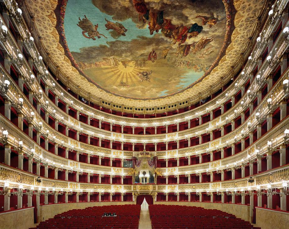 High notes, and natural acoustics: Theatro di San Carlo, Naples, Italy.