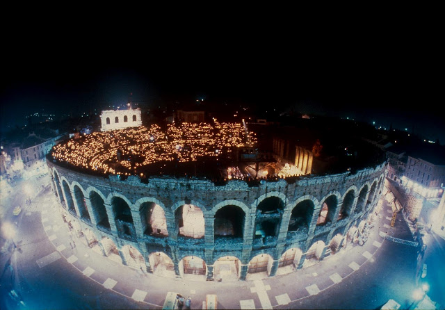 In the round: L'Arena di Verona, Italy