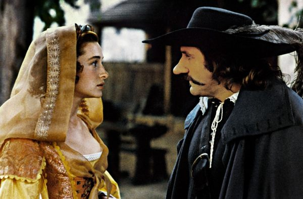He nose, but does she? Cyrano de Bergerac