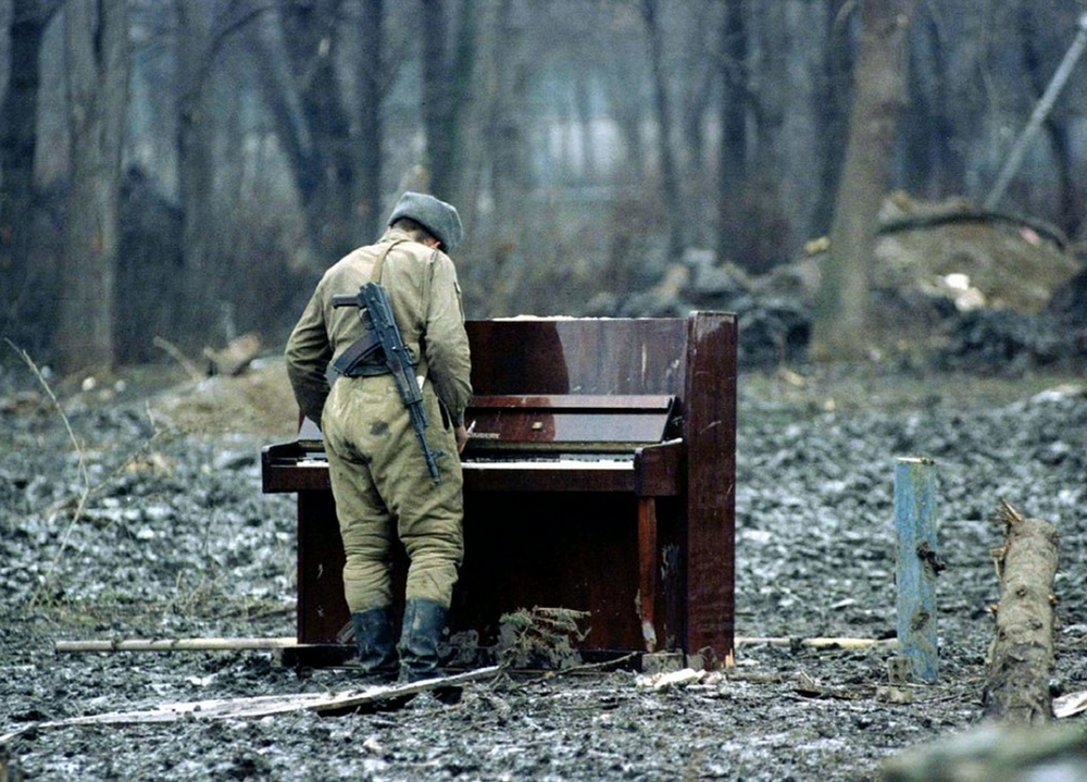 Music offers wisdom, not war