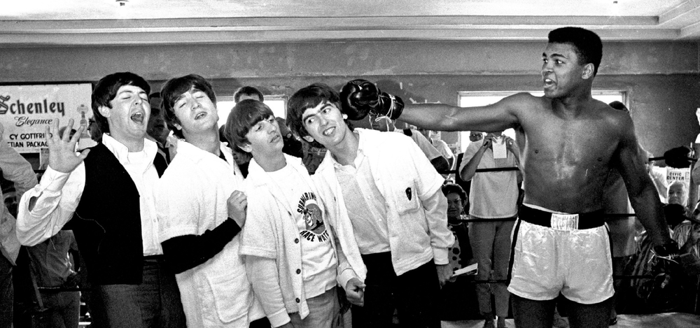 Help! A knockout moment from Muhammed Ali and the Beatles in 1964