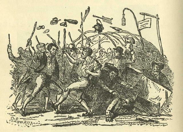 Fighting at Donnybrook Fair