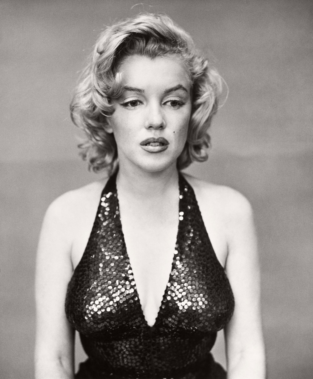 Marilyn Monroe, 1926-1962. She mostly smiled in her photographs, but perhaps this was more the real her