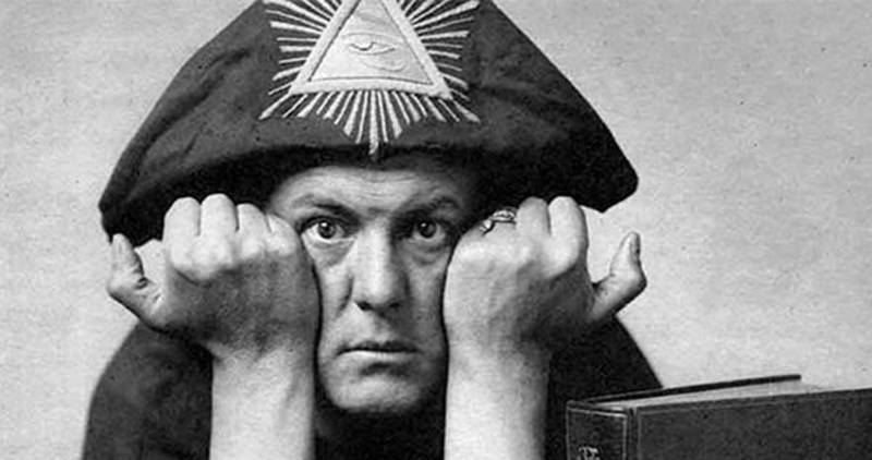 That old devil Aleister Crowley
