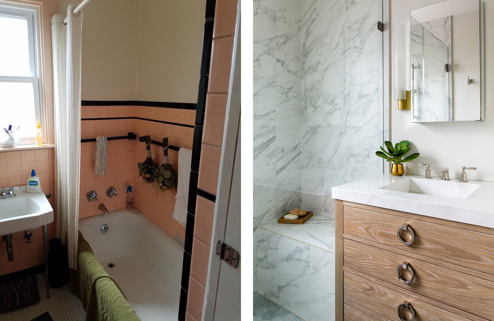 Bathroom Before & After