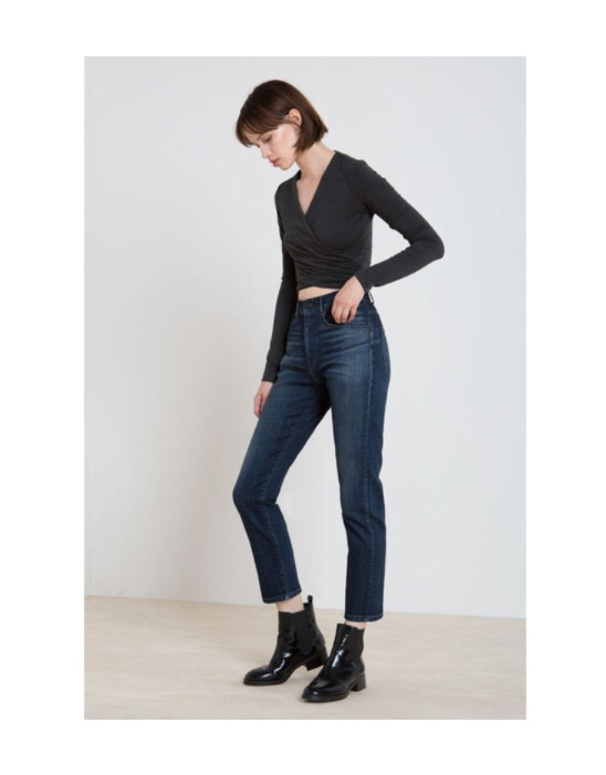 The High Waist  3x1 W4 Super High Rise Crop Boyfriend Jeans - $245 (3X1.us)