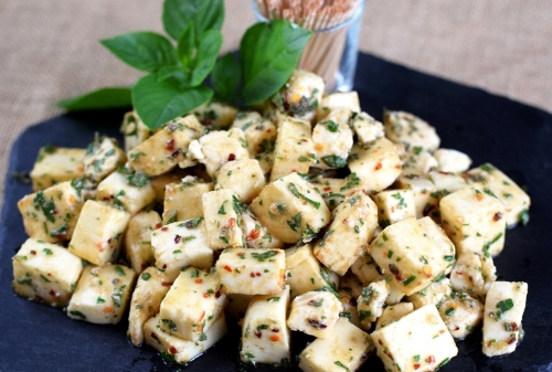 Herb Marinated Fresh Mozzarella