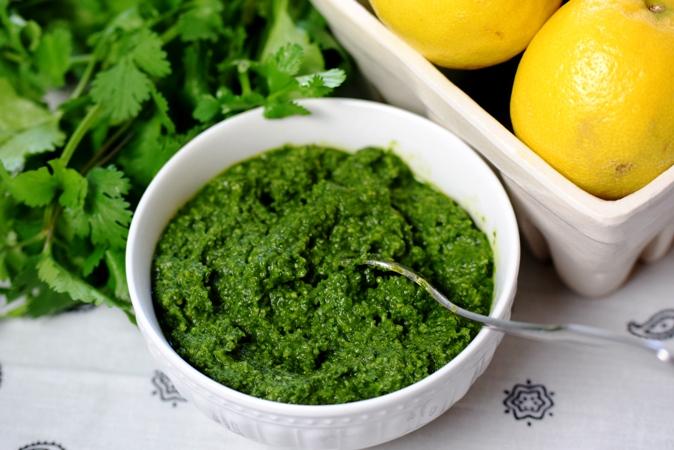 Healthy Lemon, Herb & Kale Pesto