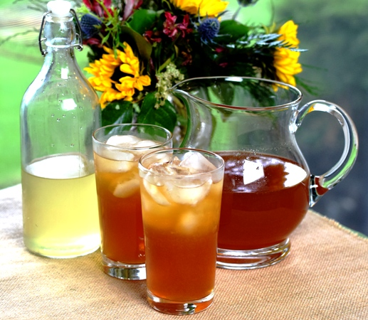 "Pitcher of Arnold Palmers with a side of Limoncello for the ""Grown-Up"" version"