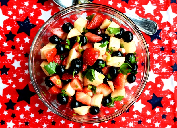 Red, White & Blue Salsa