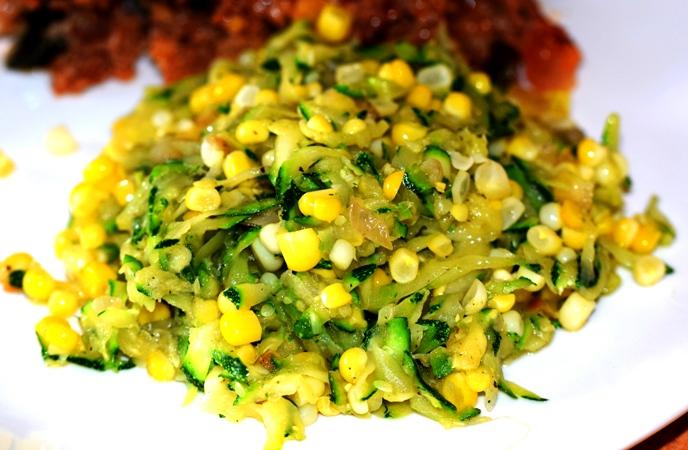 Sauteed Sweet Corn & Zucchini