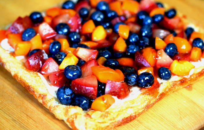 Fast & Easy Fresh Fruit or Berry Tart