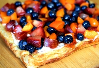 Fast & Easy Fresh Fuit or Berry Tart