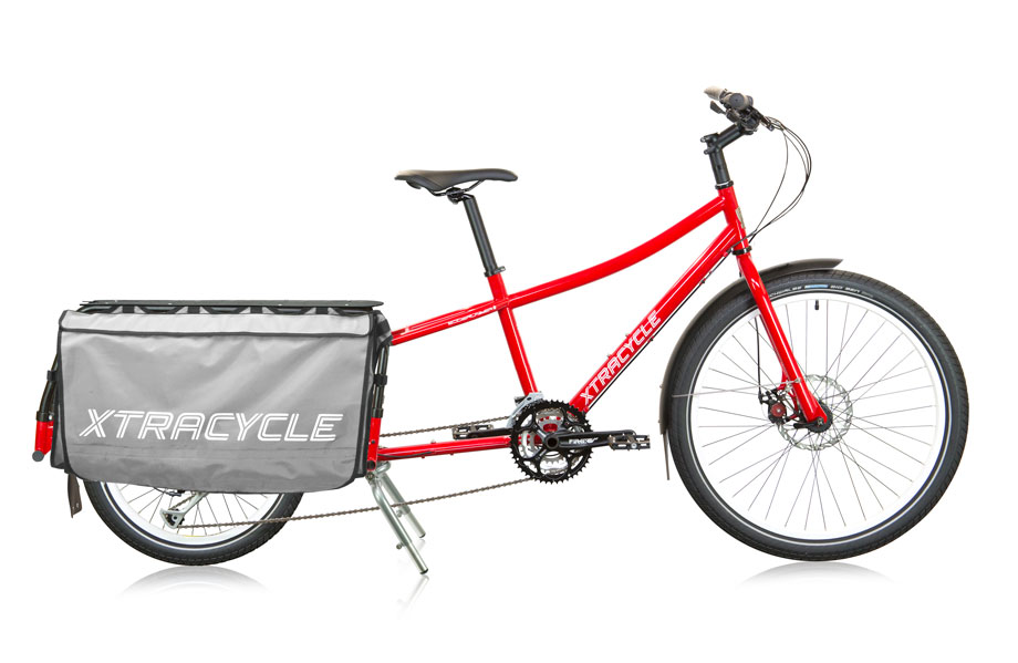 The Xtracycle 27D - incredible ride feel for a capable cargo bike
