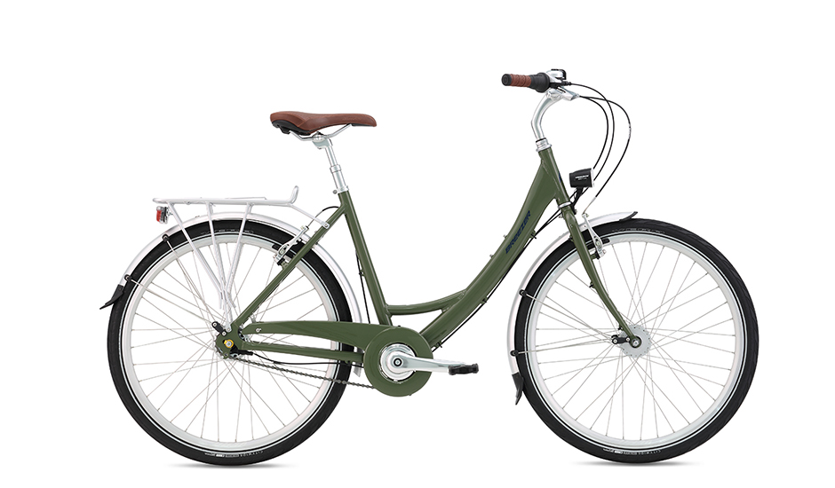 Breezer Uptown 7 LS - An ideal commuter with lights, fenders, & rack