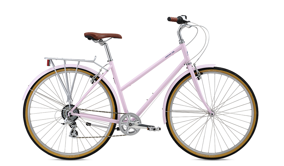 Downtown EX Stepover - A stylish, lightweight, simple city bike