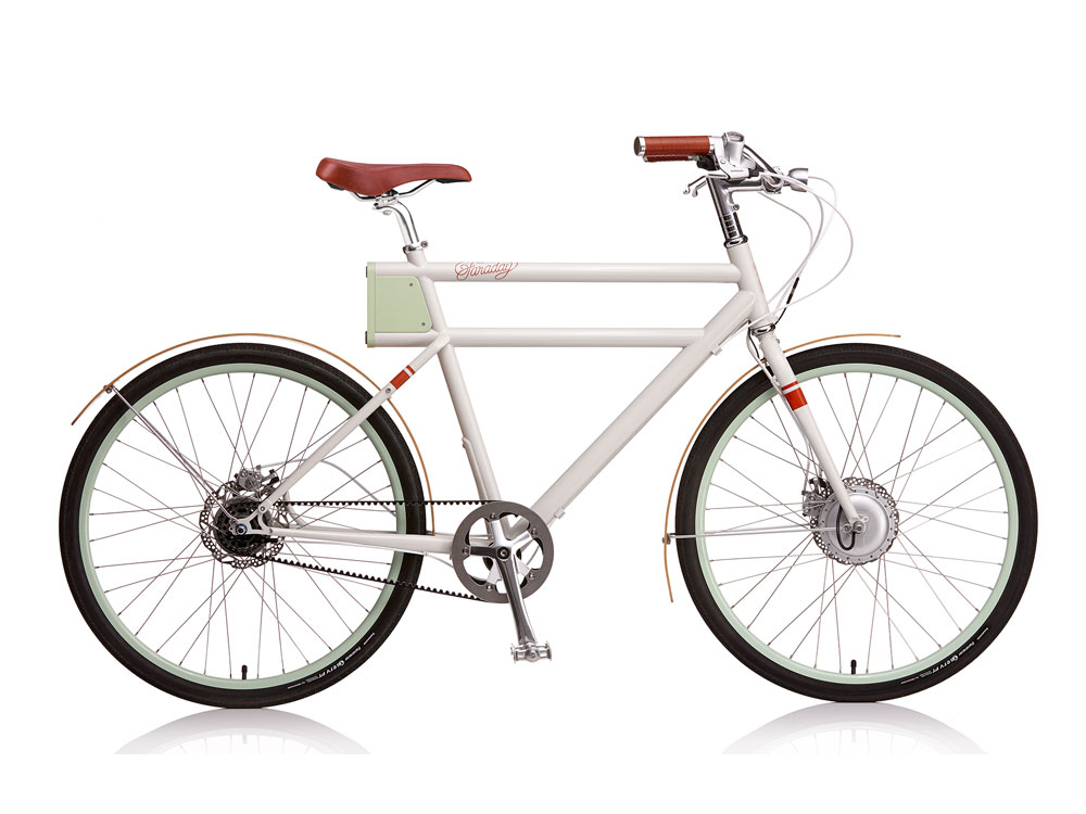 Faraday Porter  - A classy belt-drive e-bike that looks amazing.