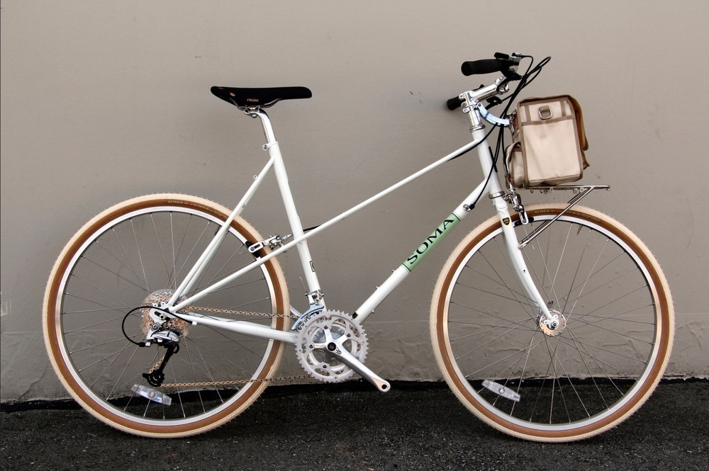 Soma Buena Vista  - Enjoy 'la buena vista' with this upright commuter.