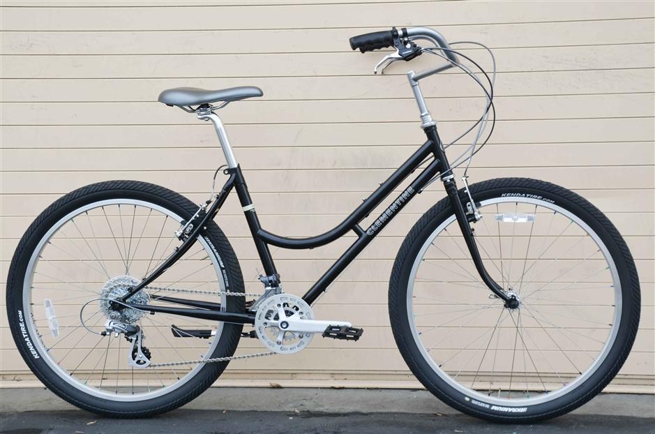 Rivendell Clementine - A commuter/shopping/commuter/trails bike.