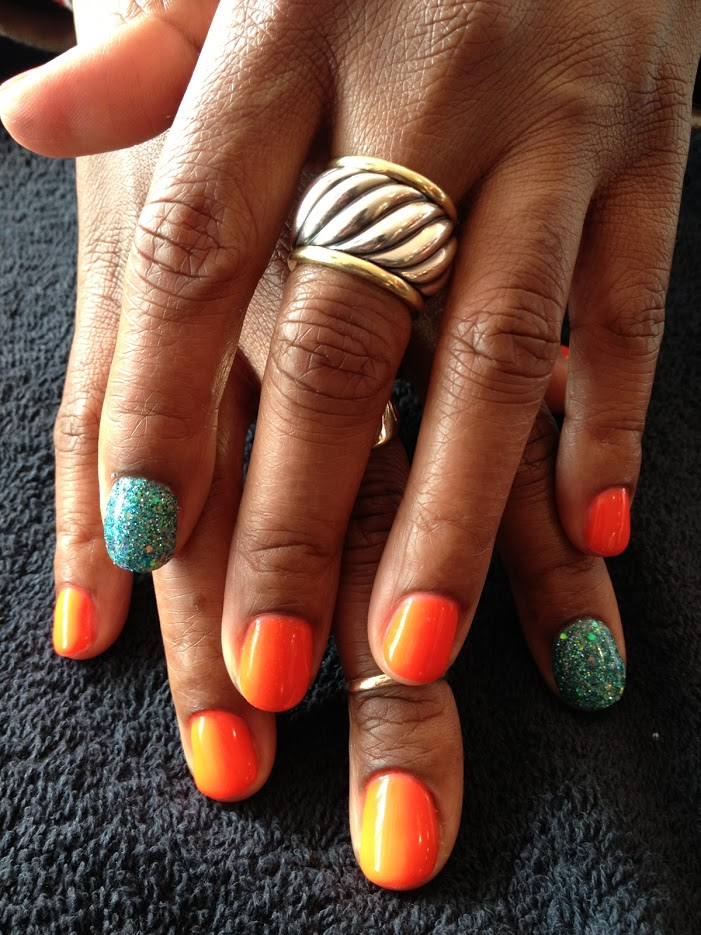 teal glitter orange.JPG