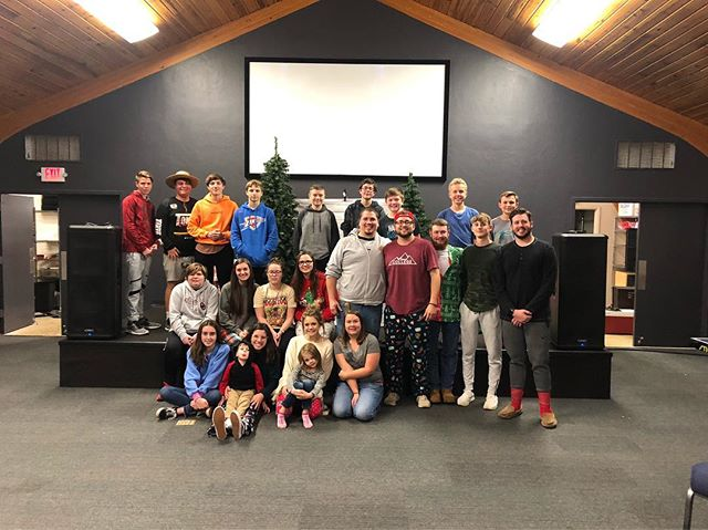 What a great night celebrating Christmas here @summitchurchok #summityouth