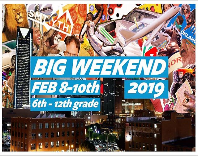 Registration for Big Weekend opens tonight! It's $20 or FREE if you bring a friend! (that's never been to Summit)