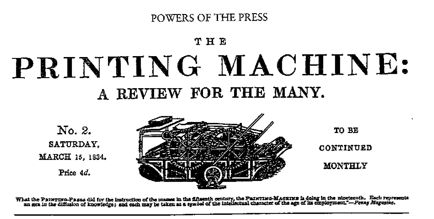 The Printing Machine