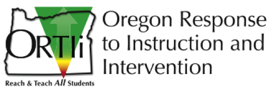 Oregon Response to Instruction & Intervention