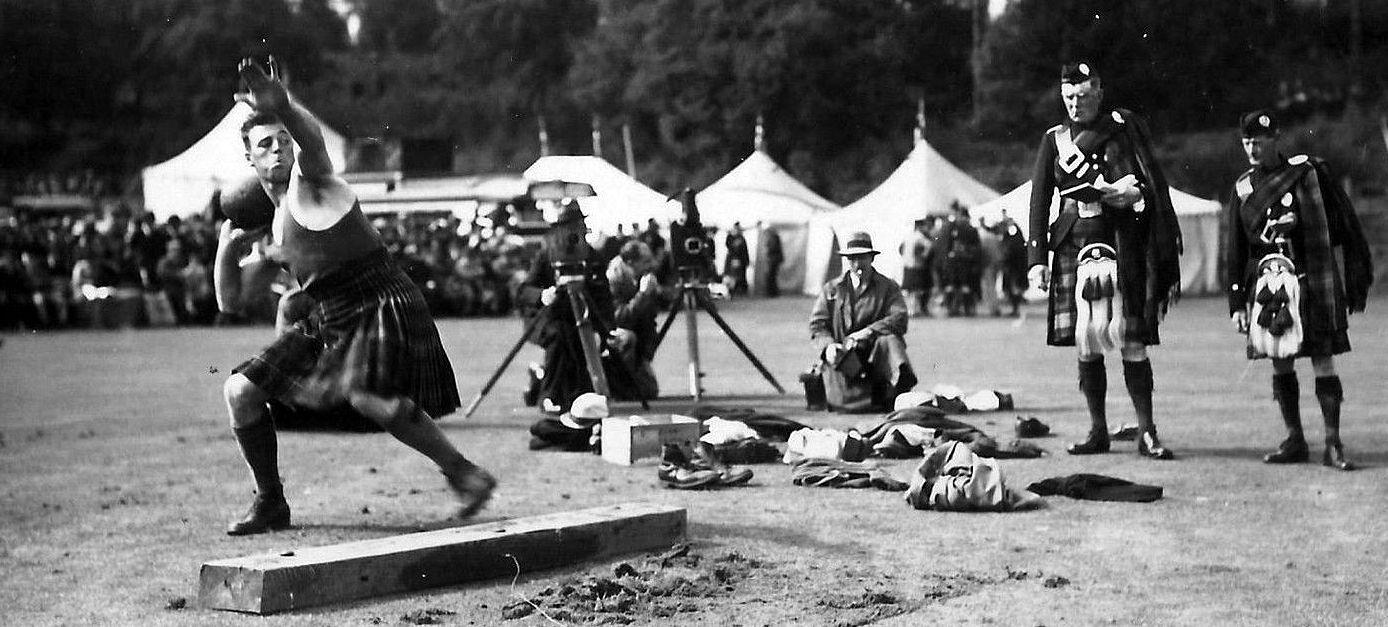 About the scottish festival highland games scottish festival old photograph putting the shot highland games ballater scotlandg solutioingenieria Choice Image